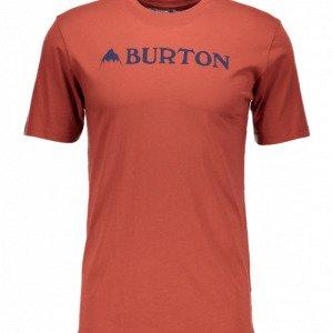 Burton Mountain Horizontal Ss Tee T-Paita
