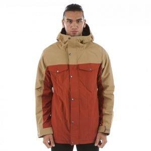 Burton Twc Greenlight Jacket Lumilautailutakki Beige / Punainen