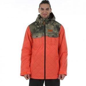 Oakley Cedar Ridge Biozone Insulated Jacket Lumilautailutakki Oranssi