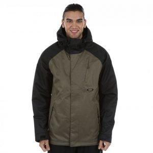 Oakley Regulator Bzi Jacket Lumilautailutakki Harmaa / Vihreä