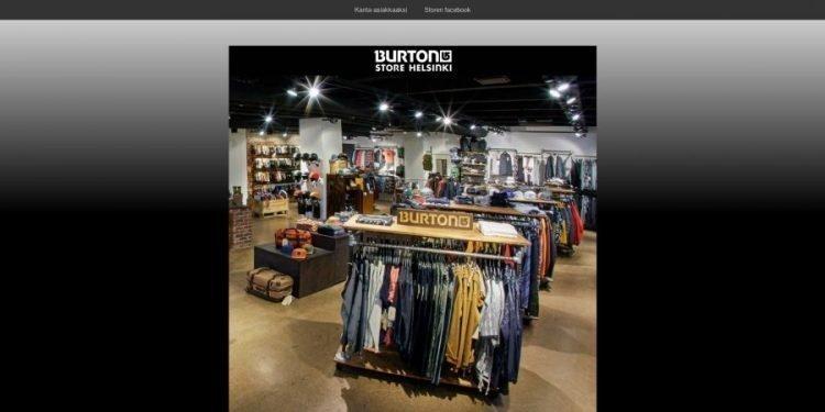 Burton Store Helsinki